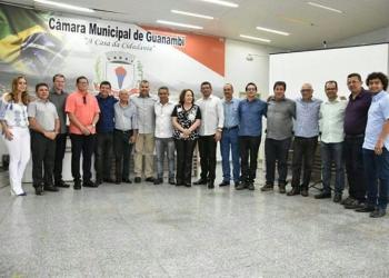Foto:Ùltimo encontro dos consorciados realizado em Guan